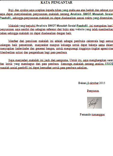 Analisis Masalah Sosial anak medan makalah analisis swot masalah sosial paedofil