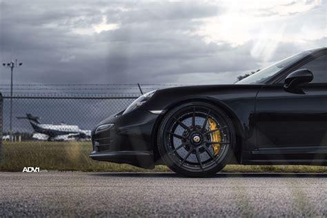 porsche turbo wheels black black porsche 911 turbo s adv5 0 m v2 cs series wheels