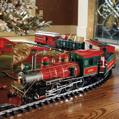 christmas tree new christmas train set for under tree
