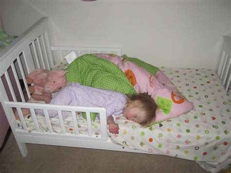 sleeping in toddler bed whither shall i go