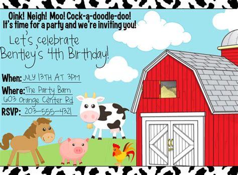 Free Printable Animal Party Invitation Orderecigsjuice Info Farm Animal Invitation Templates Free