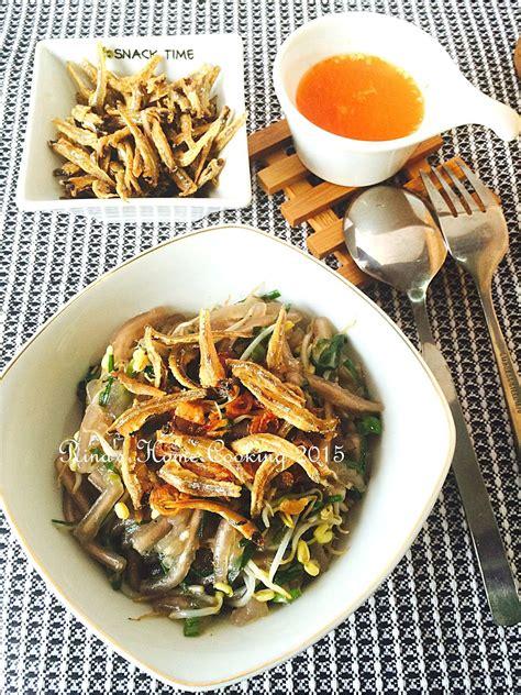 rinas home cooking mie sagu goreng khas pontianak