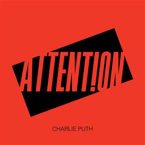 Charlie Puth Attention Album | charlie puth attention lyrics genius lyrics
