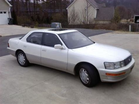 1990 lexus ls400 for sale for sale 1990 lexus ls400 6500 peachparts mercedes