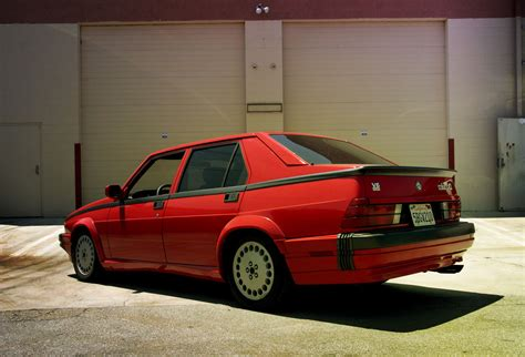 Alfa Romeo 75 by What S So Lovable About The Alfa Romeo 75 Petrolicious