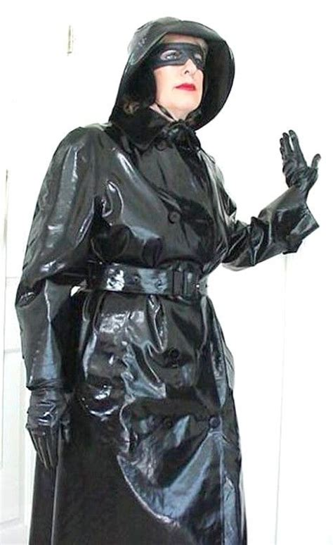 shiny rubber st 39 best the rainwearist images on gear