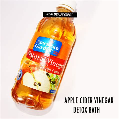 Detox Bath Apple Cider Vinegar by Cleanse Your With These 3 Tempting Detox Baths