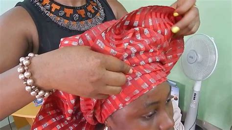 How To Tie Bridal Head Gear With Aso Oke 2014 Youtube | how to tie bridal head gear with aso oke 2014 youtube