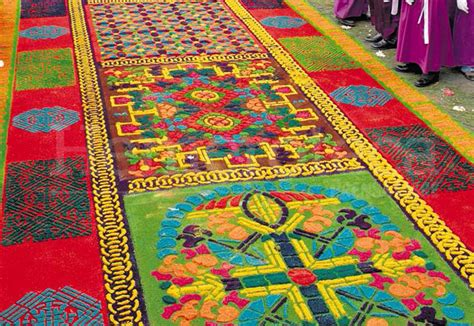 la alfombra mas famosa de guatemala
