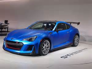Subaru At Subaru 2016 Brz Sti Performance Concept New York Show