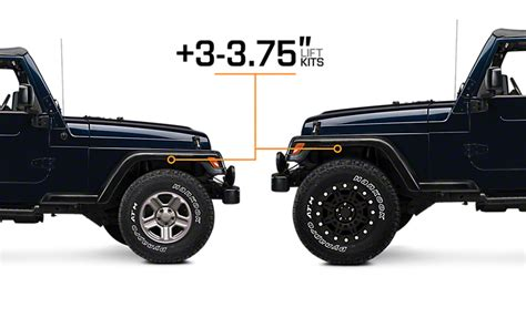 jeep lift kit box 1997 2006 jeep wrangler lift kits extremeterrain free