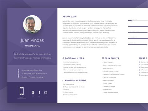 User Persona Template Sketch Free 72pxdesigns User Persona Template