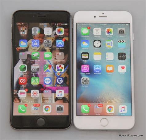 mobile technology apple iphone 6s plus vs iphone 6 plus