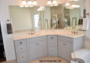 painted bathroom cabinet ideas painting bathroom cabinets master bath makeover hueology studio