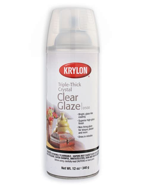 Krylon Crystal Clear Spray Triple Thick Glaze Misterart Com