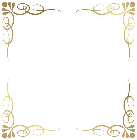 transparent decorative frame border png image fbsdbsdb