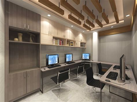 job completed  corporate office interior design work