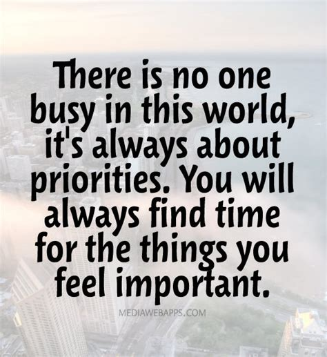 Always What Time It Is by 62 Best Priority Quotes And Sayings