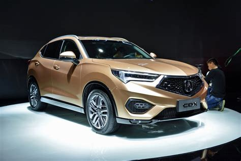 acura cdx small suv debuts in china based on honda hr v