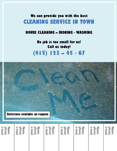 house cleaning flyers free free cleaning ads business