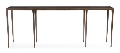 dining room console table bernhardt console table halden 84 inch hammered iron