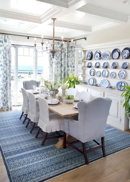 beach themed dining room cozy coastal beach house beach style dining room