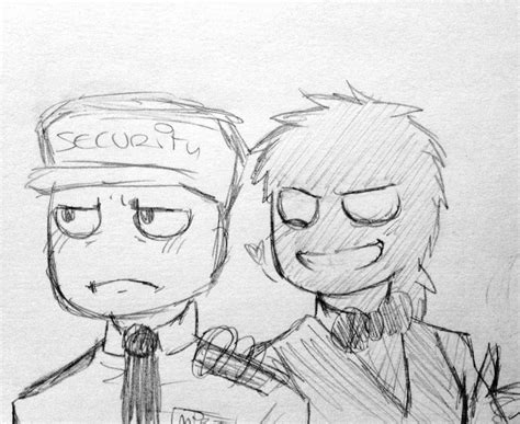 doodle vincent fnaf mike and vincent doodle by akkame on deviantart