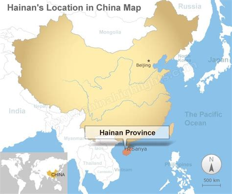 hainan map map  hainans tourist attractions  cities