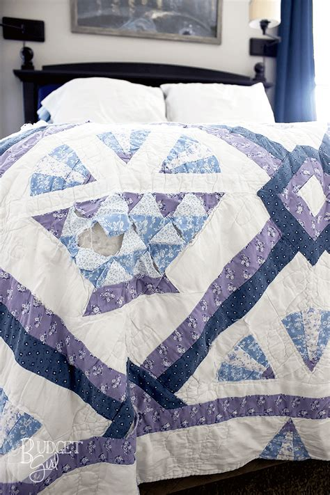 how to fix a quilt when you don t how to sew
