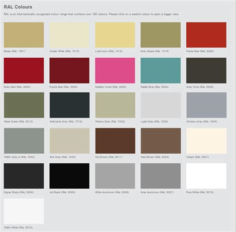 ral colors ral colours related keywords suggestions ral colours