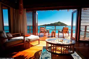 fiji accommodation bungalow water the world s most opulent overwater bungalow getaways