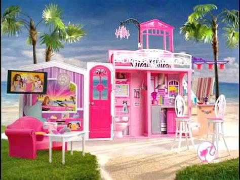 barbie vacation house 2010 barbie glam vacation house commercial youtube