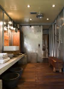 Modern Industrial Bathroom Industrial Bathroom Design Modern Bathroom Mell Architects
