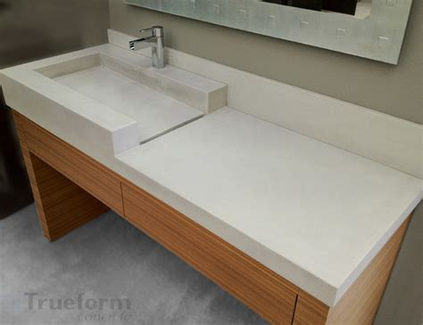 Concrete Sink Bathroom concrete sink contemporary bathroom sinks new york