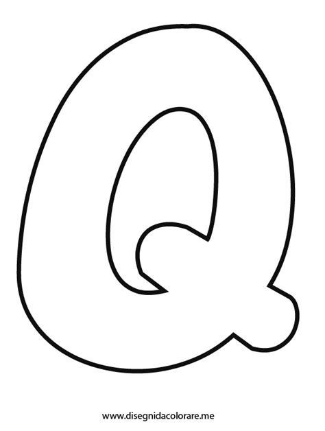 lettere da ritagliare lettera q da colorare disegni da colorare