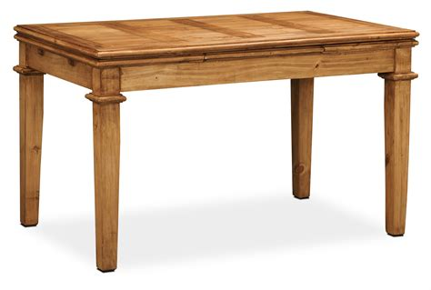 Dining Table Pine Santa Fe Rusticos Solid Pine Dining Table United Furniture Warehouse