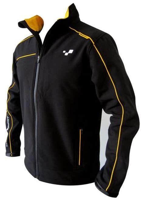 black softshell jacket renault shop
