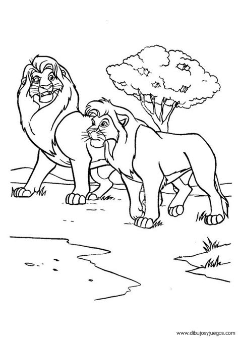 imagenes leones para pintar familia de leones para colorear imagui