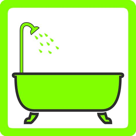Shower Clipart by Bathtub With Shower Clip At Clker Vector Clip