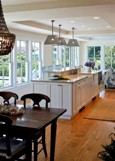 kitchen view 38 awesome kitchen designs with a view digsdigs