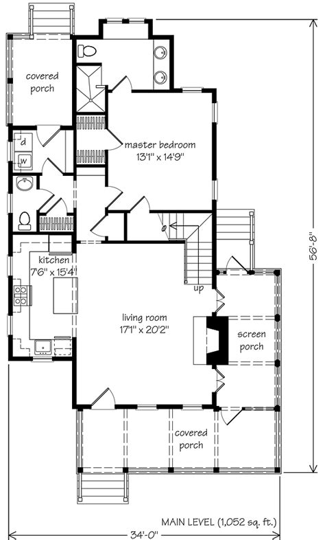 Sugarberry Cottage Floor Plan | sugarberry cottage 5 houses built with same popular plan