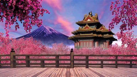 background japan japan pink garden vj loop download full hd vj loop
