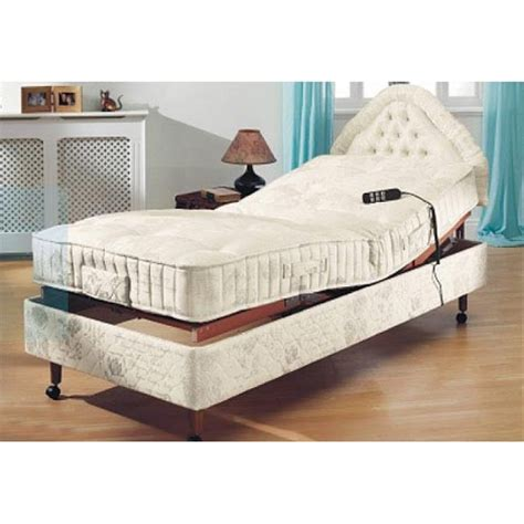powermatic plus electric adjustable bed visco mattress flintshire chester wirral