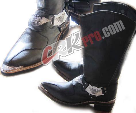 Sepatu Boot Dishub sepatu polisi polantas polri sepatu boots handmade
