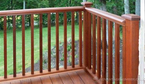 decking banister ipe decking handrail ipe balusters