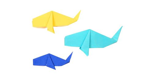 Learn How To Make Origami - free coloring pages learn how to make origami whale diy