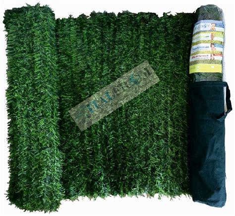 giardino artificiale siepi finte ornamentali per recinzione siepe artificiale