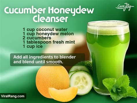 Viral Detox by 13 Detox Drinks Juice Recipes For Cleansing Weight