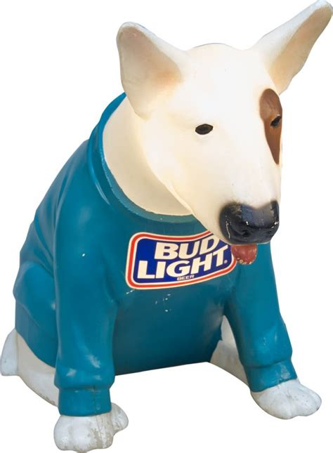 what of was spuds mackenzie bud light spuds mackenzie light up countertop lot 2363
