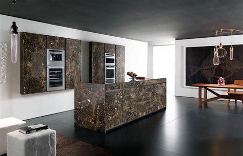 cucine toncelli cucina in marmo con isola essential emperador
